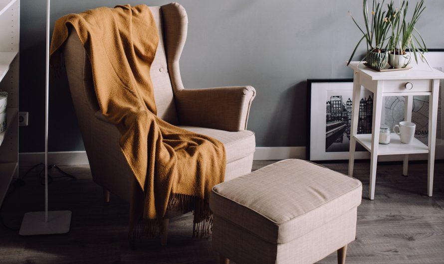 Le fauteuil bergère à oreilles: un fauteuil tendance